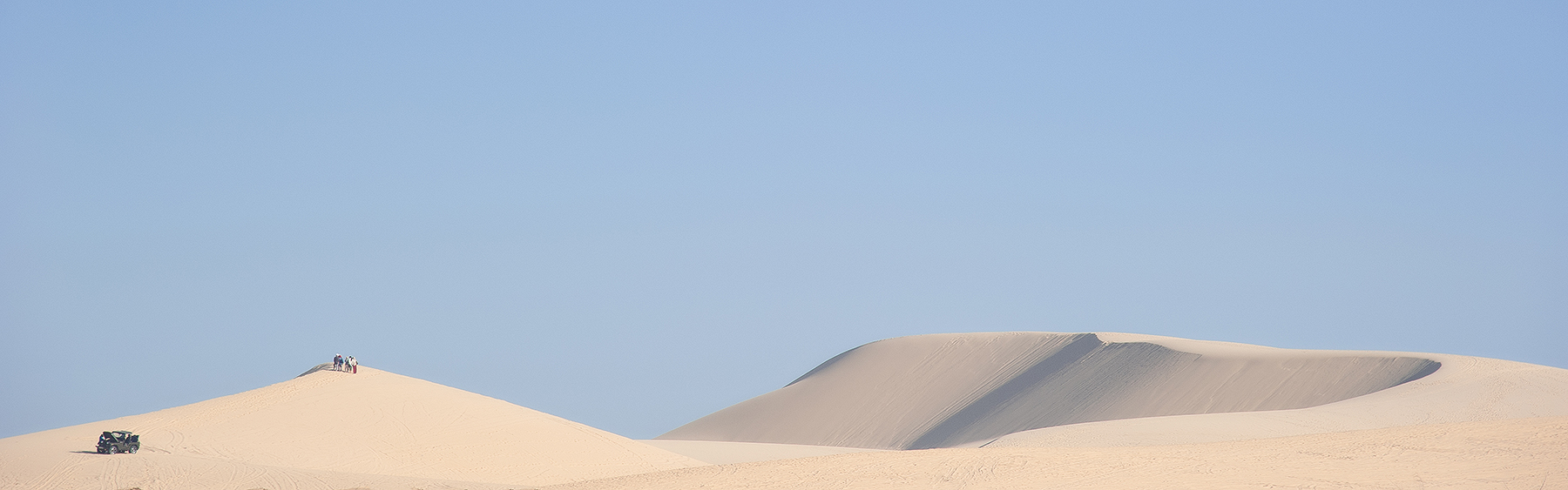 Minimalist view of Sand Dunes